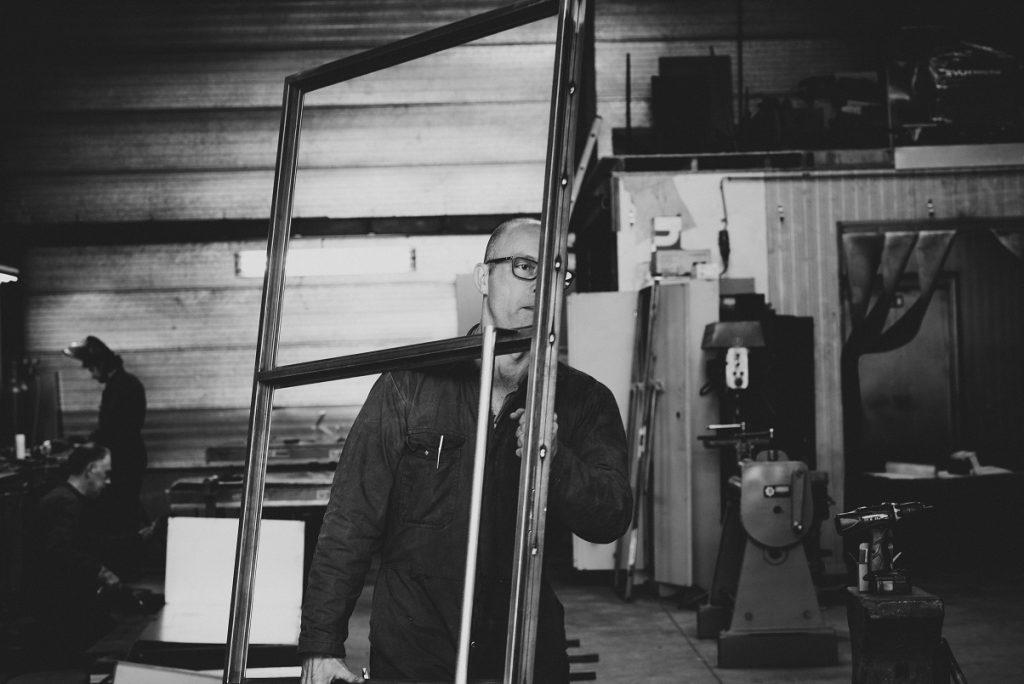 Stalen deur op maat tilburg dickens bv staal met stijl